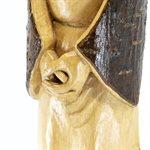Sagesse, sculpture sur bois d'aulne