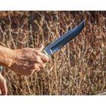 Couteau en érable coti stabilisé