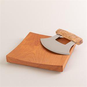 Couteau à fine herbe (inspiration Ulu)