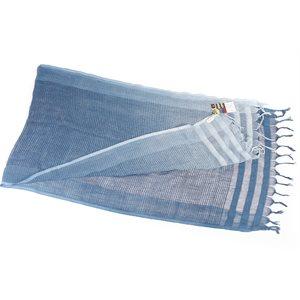 LINO, foulard soie et coton, teinture végétale
