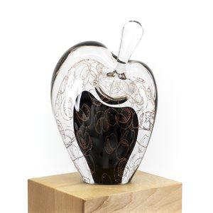 Parfumeuse en verre soufflé