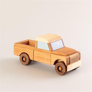 Jouet Pick-up en bois