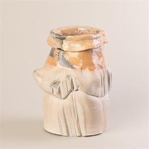 Vase en porcelaine, modèle Col roulé
