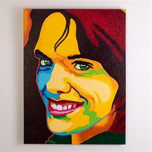Fauve, acrylique sur toile