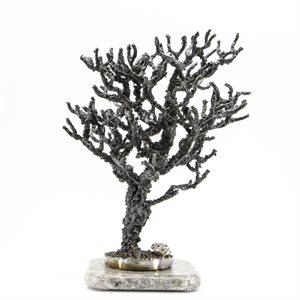 Force de vivre, arbre en acier