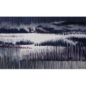 NORDICITÉ QUÉBÉCOISE, tapisserie en haute-lisse