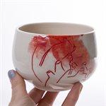 Ceramic tableware set, Aorta collection