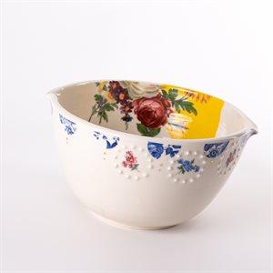 Bol repas en céramique, collection Rococo Bling Bling, modèle 1