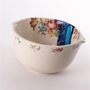 Bol repas en céramique, collection Rococo Bling Bling, modèle 2