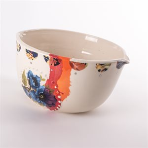 Bol repas en céramique, collection Rococo Bling Bling, modèle 3