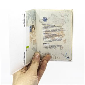 Étuit à passeport en Tyvek