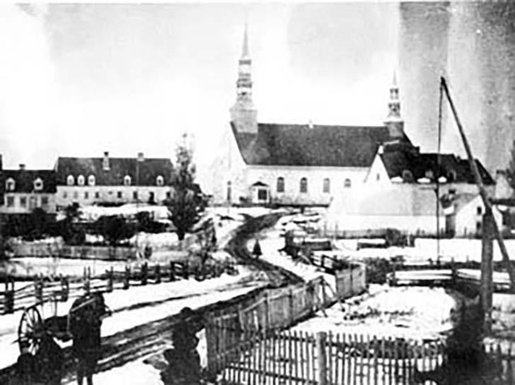 L'église de Saint-Jean-Port-Joli à l'époque